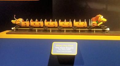 Slinky Dog Dash Ride Vehicle Model