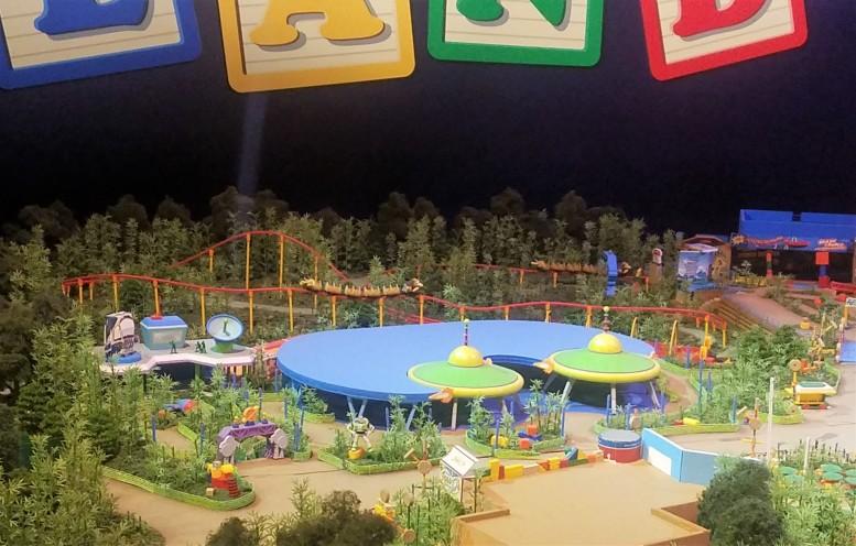 Toy Story Land Model 1